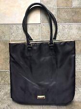 Versace Parfum Tote Bag Weekender Black With Gold Trim