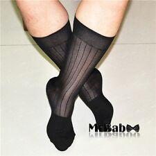 SALE 12Pairs Pack Men's Dress Socks,100% Nylon,Black TNT Summer Cool Sheer Socks