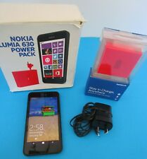 "Nokia  Lumia 630 - 8GB - 4.5"" Black Smartphone 3G"