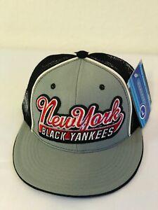 Negro League Baseball Cap, NY BLACK YANKEES, Blk/Gray