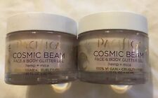 2 Pacifica Cosmic Gleam Face & Body Glitter Gel 1.48 fl oz