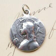 St Joan of Arc Battle Banner Medal - Antique Replica