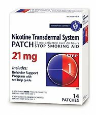 Habitrol® Step 1 Nicotine Patch Transdermal System 21mg 14 Patches Each