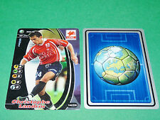 FOOTBALL CARD WIZARDS 2001-2002 CHRISTOPHE LANDRIN LILLE OSC LOSC PANINI