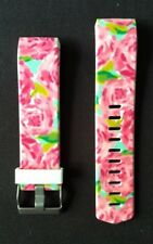 Fitbit Charge 2 Band Silicone Fitness First Impressions Lilly Rose Pink Small