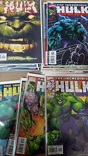 Avengers Comic lot HULK from 1999 series 12-18 24-81 nm bagged boarded