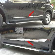 fit 2013-2018 Toyota RAV4 RAV 4 ABS Chrome Door Side Body Molding Trim Garnish