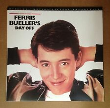 Ferris Bueller's Day OFF 2 x Black LP VINYL Motion Picture Soundtrack JAPAN