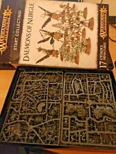 Games Workshop - Age of Sigmar - Start Collecting Daemons Of Nurgle - Parts miss