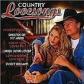 Country Love Songs, Patsy Cline/Faron Young/Buck Owe, Very Good CD