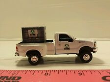 1/64 CUSTOM ertl farm toy ford f350 stine dealer TRUCK & probox of stine seeds.