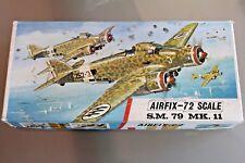 AIRFIX 1/72 Avion SAVOIA MARCHETTI S.M.79 Maquette plastique à monter série 4
