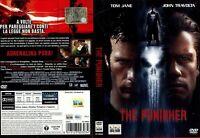 THE PUNISHER Dvd Film TOM JANE JOHN TRAVOLTA del 2004 Cinema Hard no Bluray Vhs