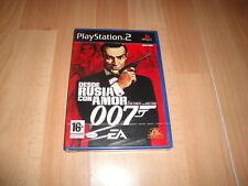 007 JAMES BOND DESDE RUSIA CON AMOR PARA LA SONY PS2 NUEVO PRECINTADO