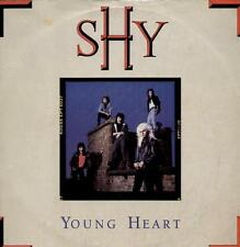 """SHY Young Heart  12"""" Ps, Nwobhm Ep, 3 Tracks Inc Run For Cover+Don'T Wanna Lose"""