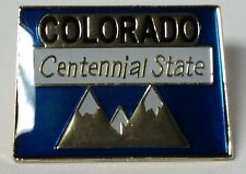 COLORADO STATE LAPEL PIN HAT TAC NEW