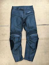 "BUFFALO Mens Race Leather Motorbike Motorcycle Trousers UK 31"" to 32"" Waist B31"
