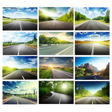 Highway Road View Photo Background Cloth Photography Backdrop Prints Decor