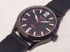 WAKMANN GERMANY SHADOW AUTOMATIC, SWISS MADE, ETA 2824-2, CARBON FIBER DIAL,MINT