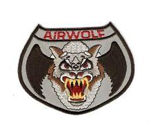 + AIRWOLF Aufnäher Patch  Logo