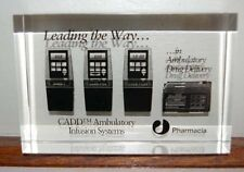 Cadd Ambulatory Systems Pharmacia Lucite Paperweight