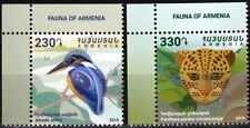 ARMENIA 2019-21 FAUNA. Protected Animals. Bird Panther. Title CORNER, MNH