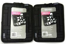 """Lot of(2) COCOON CPG7BK 9.25""""x7.25"""" Grid-It Organizer for pen,notepad,cellphone"""