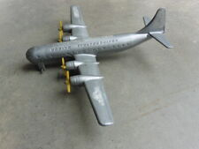 1950s Thomas Toy Boeing Stratocruiser 4 Prop Airplane w Embossed Specifications