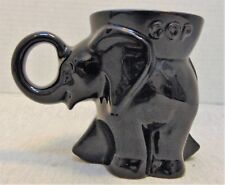 1988 Frankoma GOP Republican Elephant Mug Collectible / Pottery