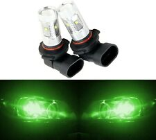 LED 30W 9045 Green Two Bulbs Fog Light Replacement Show Use Off Road Lamp