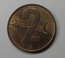 Switzerland 2 Rappen 1963B Bronze KM#47 UNC