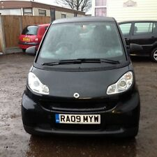 2009 Smart Car Fortwo Passion Mhd 1.0 Petrol Automatic Only £20.00 a Year to Tax