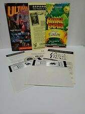 Worlds of Ultima The Savage Empire PC IBM 1990 Original Complete Without Box