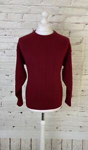 N PEAL 100% Cashmere Mens Jumper Large L 42 UK 52 EU - THICK Cable knit