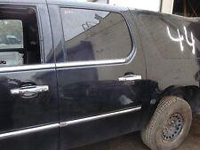2007-09 Cadillac Escalade EXT ESV Driver Left Rear Door Assembly Black Paint
