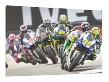 Rossi Bradl Crutchlow Smith Lorenzo 30x20 LARGE Moto GP Framed Picture Canvas