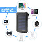 2000000mAh LED Dual USB Portable Charger Solar Power Bank For Cell Phone Android
