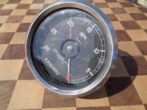 "Smiths reverse tachometer 4"" adjustable 3000rpm T4/016A H38TK6H"