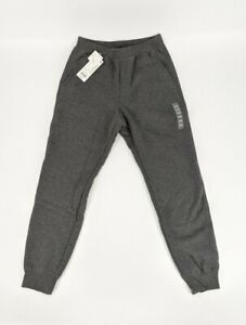 Uniqlo Kid's Warm Pile Lined Gray Jogger Sweatpants Size 11-12 NWT