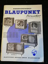 Original Service Manual Blaupunkt Fernseher Jahrgang 1956/58