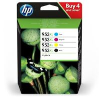 ORIGINAL & BOXED DEC 2019 HP953XL / 3HZ52AE B/C/M/Y COMBO PACK - SWIFTLY POSTED