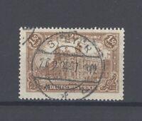 Dt. Reich Mi.Nr. 114c, 1,5 Mark Freimarken 1920 gestempelt, geprüft Infla (33353