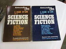 astounding. l'age d'or de la science fiction .2 vol .