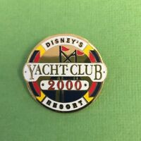 Disney Yacht Club Resort Pin 2000