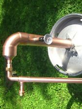 "Easy Keg Kit Copper 2"" inch Moonshine Pot Pipe Still Distillation Column"