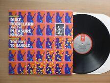 Duke Robillard – Too Hot To Handle   LP UK  1985  Vinyl  m-