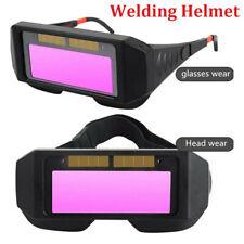 Welding Helmet Goggles Auto Darkening Eyes Uv Protection Welder Glasses Mask Hot