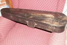 Antique Coffin Style G.S.B. 4/4 Violin Case,