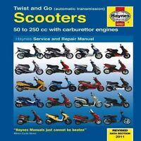 Haynes 4082 Manual for Twist n Go Automatic Scooters NEW