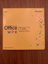 Microsoft Office: Mac 2011 Home & Student